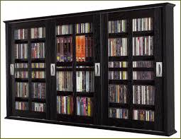 Storage Cabinets Glass Doors Refacing Traditional Interior With Free Standing Dvd Storage