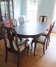Queen Anne Style Dining Sets EBay - Pennsylvania house dining room set