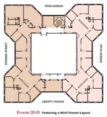 different floor plans floor plans office leasing fifth avenue place