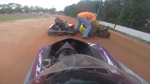 go kart dirt track racing new smyrna beach speedway nsb kart