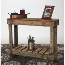 Driftwood Sofa Table by Driftwood Console Table Wayfair