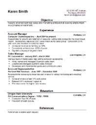 Download Resume Sample In Word Format Resume Models In Word Format 16 Job Resume Template Style 1