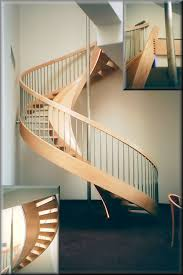 Wooden Spiral Stairs Design Wooden Spiral Stairs Custom Made By Unique Spiral Stairs
