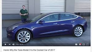 tesla outside the truth behind doug demuro u0027s tesla model 3 review the drive