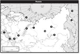 Physical Features Of Europe Map by Russia Map Quiz Physical Features