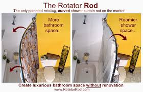 bathroom shower curtain rods download half circle shower rod curtain
