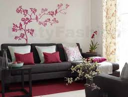 Flower Wall Painting Design LustyFashion - Wall paintings design
