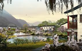 future village wallpapers china photoshop art wallpapers beautifully pictured on digital