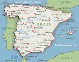 Spain France Map by Spain By Avareeh Hallmark