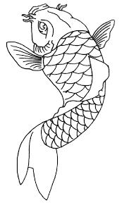 koi fish outline1 1 from ballerz ink piercing in