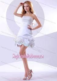 graduation dresses 5th grade line mini length strapless 5th grade graduation dresses in white in