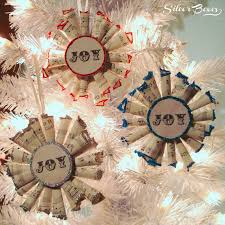 silver boxes mini sheet wreath tree ornaments