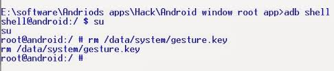 pattern lock using android debug bridge bypass android pattern lockscreen using cmd 2015