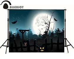 200cm 300cm 6 5x10ft digital backdrop halloween party night