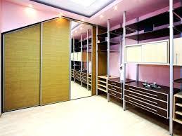 Sliding Mirror Closet Door Hardware Closet Mirror Closet Door Hardware Brown Polished Mahogany Wood