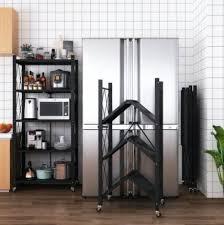 kitchen storage cupboard on wheels kitchen storage shelves rack with wheels no installation