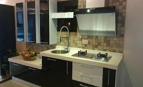 stylish kitchen stylish kitchen in black theme designs at home design
