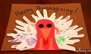 simple turkey handprint craft for kids deliciously fit