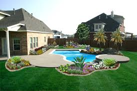 Backyard Landscaping Ideas On A Budget by Backyard Landscaping Ideas Swimming Pool Designlandscaping For