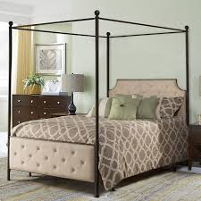 Upholstered Canopy Bed Lyons Upholstered Canopy Bed Reviews Joss