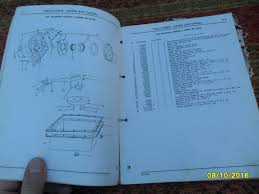antiguo manual partes despiece tractores john deere 445 745 00