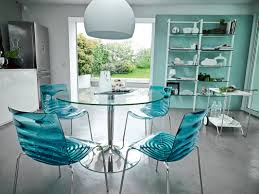 Teal Dining Table Planet Glass Dining Table Reviews Allmodern