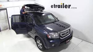 2011 honda pilot reviews review of the thule sonic rooftop cargo box on a 2011 honda