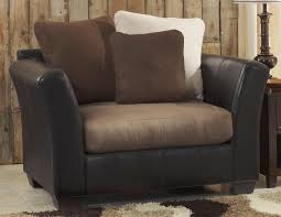 Ashley Swivel Chair by Buy Ashley Furniture 1420123 Masoli Mocha Chair And A Half