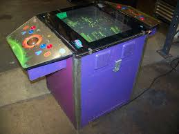 Pacman Game Table by Galaxy Games Cocktail Table Arcade Pacman Ms Pac Item Is In Used