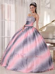 quinceanera dresses 2014 vogue ombre contrast pink fabric quinceanera dress