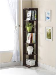 wooden corner bookcase corner bookcase review cappuccino finish 5 tier