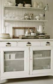 Cottage Kitchen Hutch Open Hutch White Shabby Cupboards Pinterest Shabby