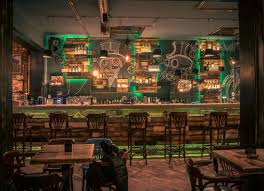 steampunk style steampunk bar commercial interiors and commercial