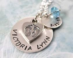 Baby Personalized Jewelry 23 Best Baby Name Necklaces Images On Pinterest New Moms Baby