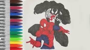 hmongbuy net spiderman escape venom coloring pages ultimate