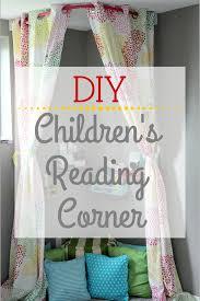 she builds her home diy children u0027s reading corner