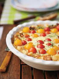 cuisiner des tomates cerises quiche au et aux tomates cerises ricardo