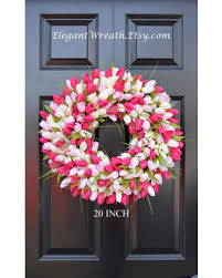 summer wreath here s a great price on wreath tulip wreath summer