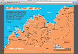 Australian Outback Map The Kimberleys Australia Map