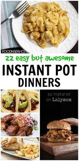 cuisine flash but 22 easy but awesome instant pot dinners instant pot electric