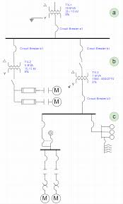 how to read single one line diagram electric arc