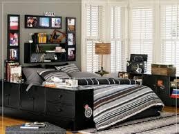 gray fur rug on white tile floor boys teenage bedroom ideas blue