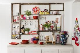 kitchen display kitchen designs shabby chic wallpaper ideas