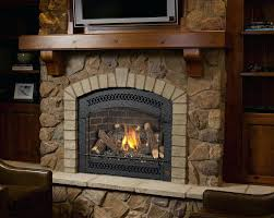 gas fireplace insert installation instructions inserts vented vs ventless log with remote control fireplaces