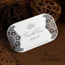 Personalized Wedding Invitations Metal Cutout Wedding Invitations Card Wedding Invitations