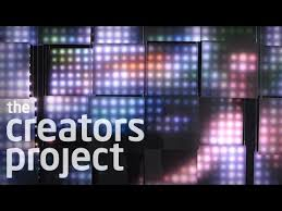 led light installation near me jim cbell s sculptural led light installations youtube