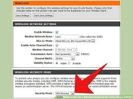 how to setup and configure your wireless router with ip how to set up a wireless network by using dlink dir635 9 steps