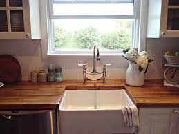 sinks apron style square undermount kitchen sink combined butcher