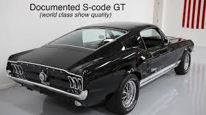 Black Mustang 1967 1967 Mustang Gt 390 S Code Fastback U2022 Myrod Com