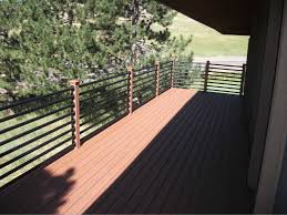 exterior astounding deck and outdoor living space decoration